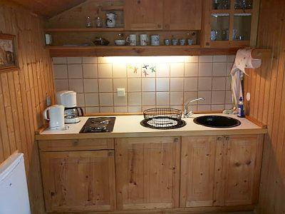 Ferienwohnung Familie Wolf Küche