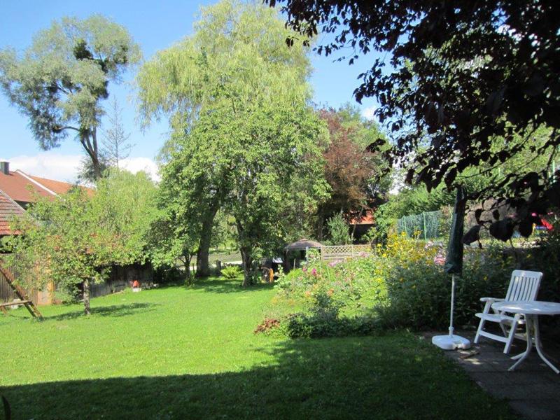 Ferienwohnung Nigl Gartenansicht